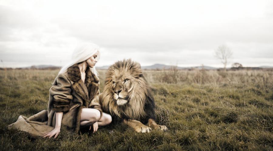 mint flörtölés oroszlán nő