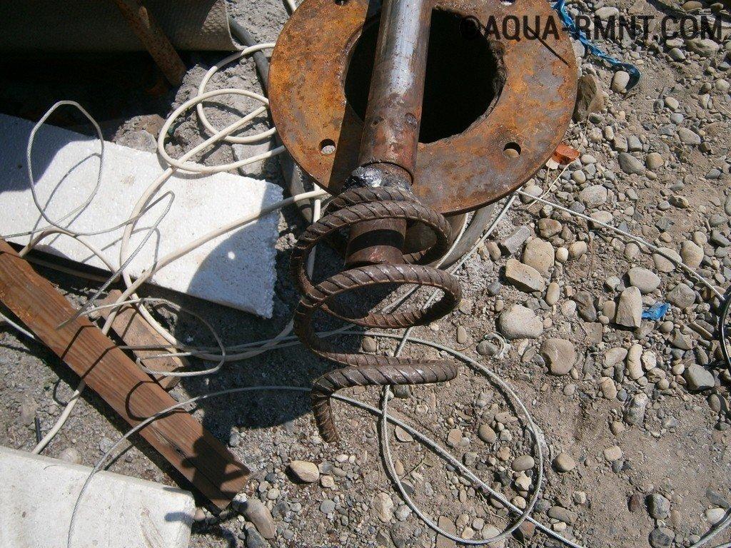 Zakačite 4 čeličnog kabela