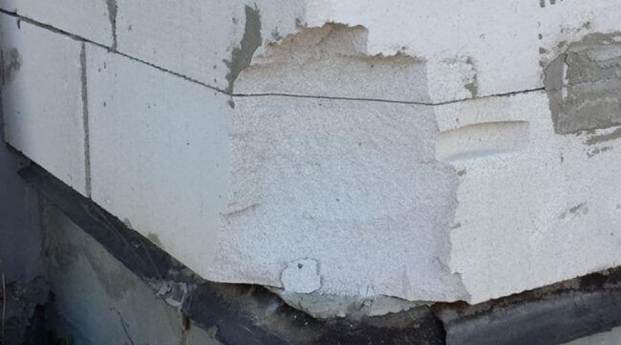 Штукатурка газосиликатных блоков снаружи цементным раствором керамзитобетон монолитное строительство
